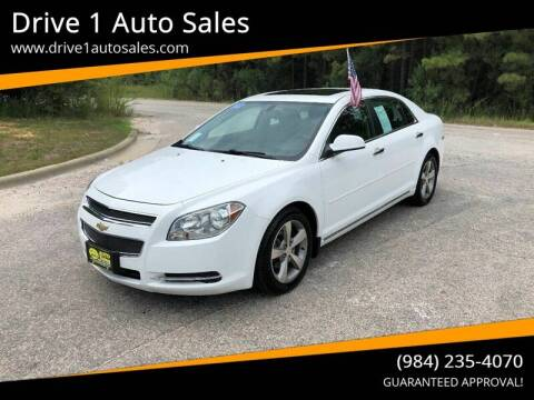 2012 Chevrolet Malibu for sale at Drive 1 Auto Sales in Wake Forest NC