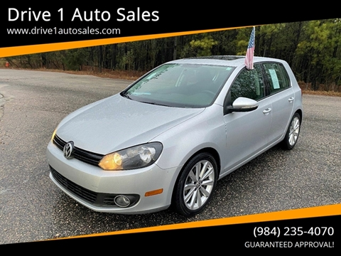 2012 Volkswagen Golf for sale at Drive 1 Auto Sales in Wake Forest NC