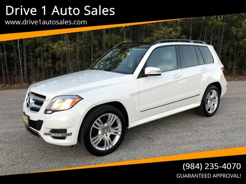 2014 Mercedes-Benz GLK for sale at Drive 1 Auto Sales in Wake Forest NC