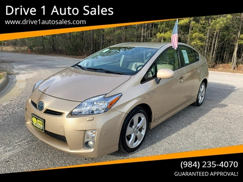 2010 Toyota Prius for sale at Drive 1 Auto Sales in Wake Forest NC