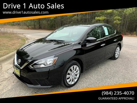 2016 Nissan Sentra for sale at Drive 1 Auto Sales in Wake Forest NC