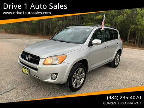 2012 Toyota RAV4 for sale at Drive 1 Auto Sales in Wake Forest NC