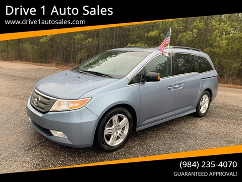 2012 Honda Odyssey for sale at Drive 1 Auto Sales in Wake Forest NC