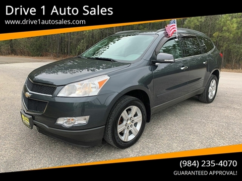 2010 Chevrolet Traverse for sale at Drive 1 Auto Sales in Wake Forest NC