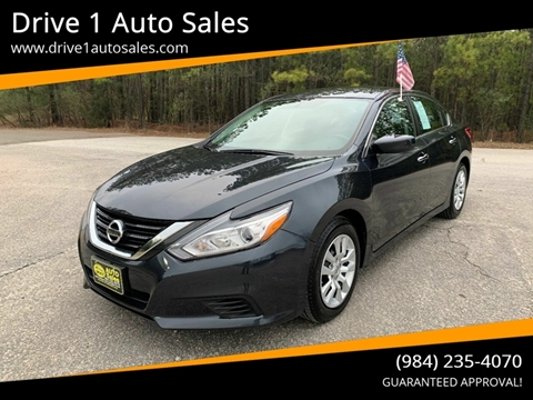 2017 Nissan Altima for sale at Drive 1 Auto Sales in Wake Forest NC
