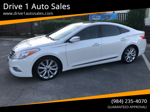 2013 Hyundai Azera for sale at Drive 1 Auto Sales in Wake Forest NC
