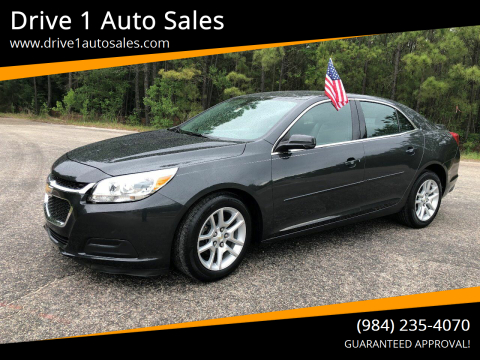 2014 Chevrolet Malibu for sale at Drive 1 Auto Sales in Wake Forest NC