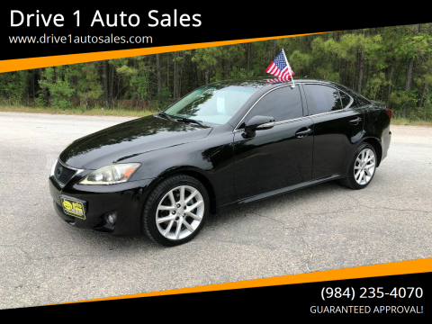2011 Lexus IS 250 for sale at Drive 1 Auto Sales in Wake Forest NC