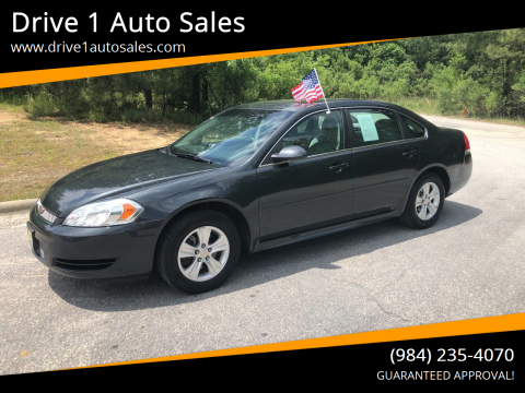 2014 Chevrolet Impala Limited for sale at Drive 1 Auto Sales in Wake Forest NC