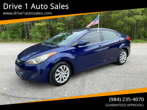 2011 Hyundai Elantra for sale at Drive 1 Auto Sales in Wake Forest NC