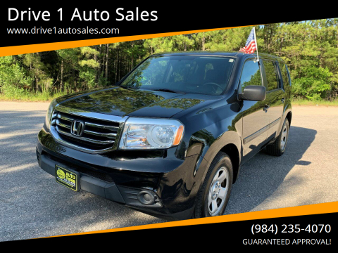 2013 Honda Pilot for sale at Drive 1 Auto Sales in Wake Forest NC