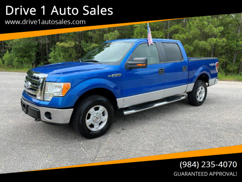 2009 Ford F-150 for sale at Drive 1 Auto Sales in Wake Forest NC