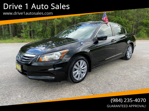2011 Honda Accord for sale at Drive 1 Auto Sales in Wake Forest NC