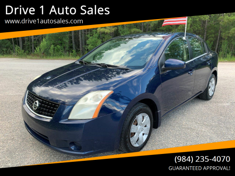 2008 Nissan Sentra for sale at Drive 1 Auto Sales in Wake Forest NC