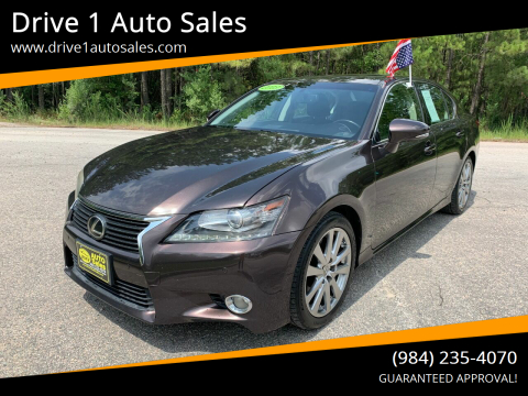 2013 Lexus GS 350 for sale at Drive 1 Auto Sales in Wake Forest NC