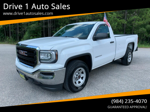 2016 GMC Sierra 1500 for sale at Drive 1 Auto Sales in Wake Forest NC