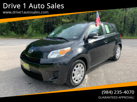 2012 Scion xD for sale at Drive 1 Auto Sales in Wake Forest NC