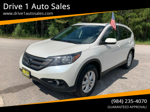 2014 Honda CR-V for sale at Drive 1 Auto Sales in Wake Forest NC