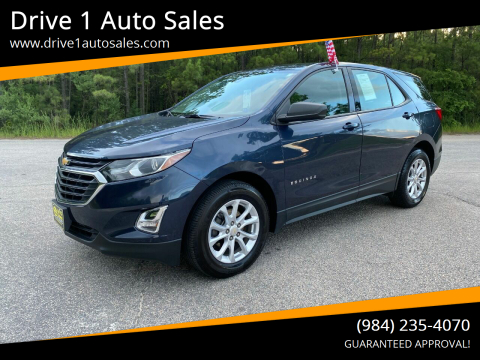 2018 Chevrolet Equinox for sale at Drive 1 Auto Sales in Wake Forest NC