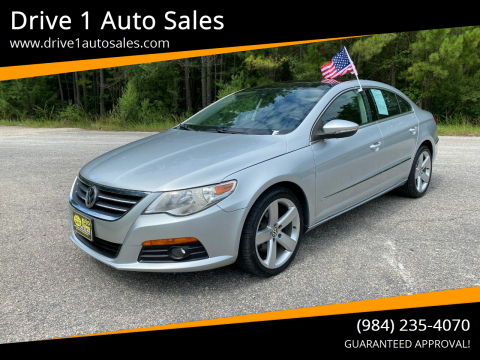 2011 Volkswagen CC for sale at Drive 1 Auto Sales in Wake Forest NC