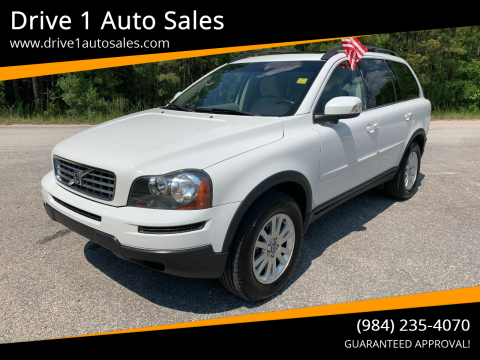 2008 Volvo XC90 for sale at Drive 1 Auto Sales in Wake Forest NC