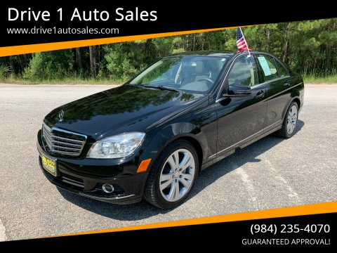 2010 Mercedes-Benz C-Class for sale at Drive 1 Auto Sales in Wake Forest NC
