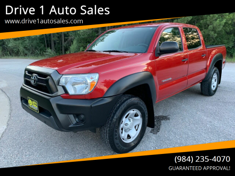 2015 Toyota Tacoma for sale at Drive 1 Auto Sales in Wake Forest NC