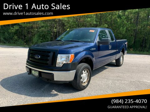 2011 Ford F-150 for sale at Drive 1 Auto Sales in Wake Forest NC