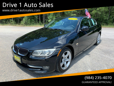 2012 BMW 3 Series for sale at Drive 1 Auto Sales in Wake Forest NC