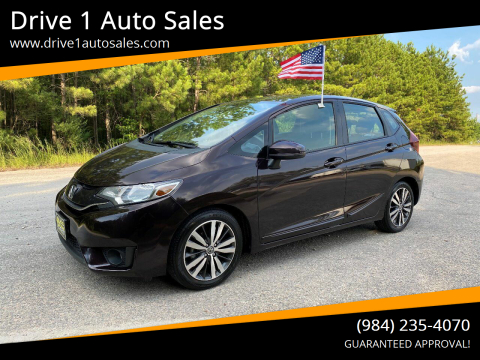 2015 Honda Fit for sale at Drive 1 Auto Sales in Wake Forest NC