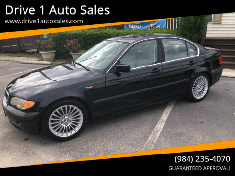 2003 BMW 3 Series for sale at Drive 1 Auto Sales in Wake Forest NC