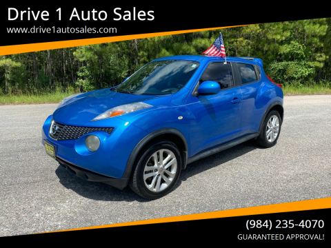 2011 Nissan JUKE for sale at Drive 1 Auto Sales in Wake Forest NC