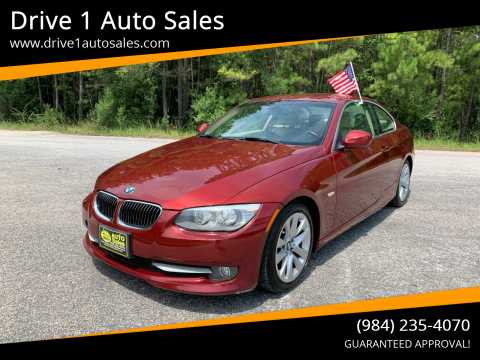2013 BMW 3 Series for sale at Drive 1 Auto Sales in Wake Forest NC
