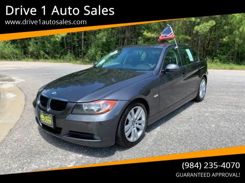 2006 BMW 3 Series for sale at Drive 1 Auto Sales in Wake Forest NC