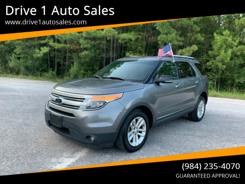 2013 Ford Explorer for sale at Drive 1 Auto Sales in Wake Forest NC