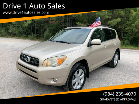 2006 Toyota RAV4 for sale at Drive 1 Auto Sales in Wake Forest NC