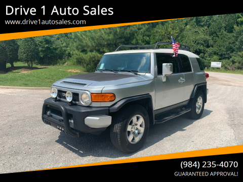 2007 Toyota FJ Cruiser for sale at Drive 1 Auto Sales in Wake Forest NC