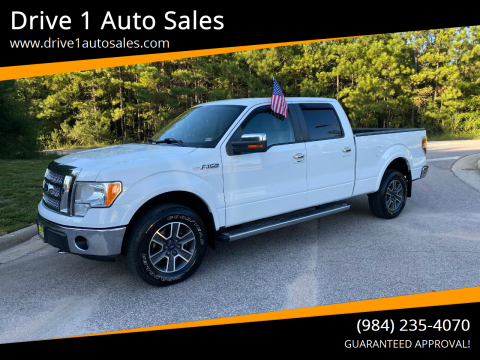 2010 Ford F-150 for sale at Drive 1 Auto Sales in Wake Forest NC