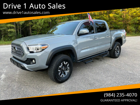 2019 Toyota Tacoma for sale at Drive 1 Auto Sales in Wake Forest NC