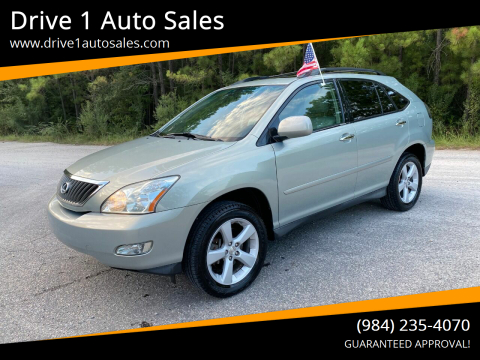 2008 Lexus RX 350 for sale at Drive 1 Auto Sales in Wake Forest NC