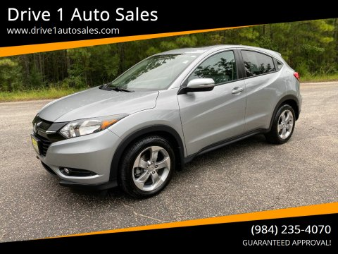 2017 Honda HR-V for sale at Drive 1 Auto Sales in Wake Forest NC