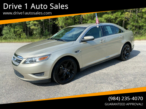 2011 Ford Taurus for sale at Drive 1 Auto Sales in Wake Forest NC