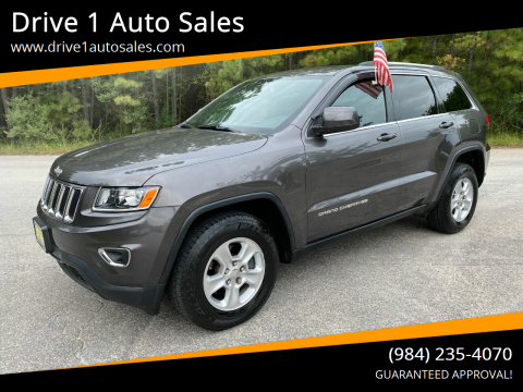 2014 Jeep Grand Cherokee for sale at Drive 1 Auto Sales in Wake Forest NC