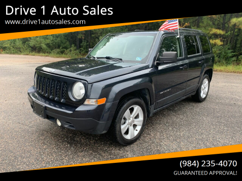 2014 Jeep Patriot for sale at Drive 1 Auto Sales in Wake Forest NC