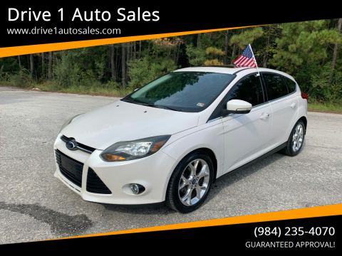 2013 Ford Focus for sale at Drive 1 Auto Sales in Wake Forest NC