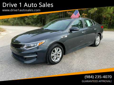 2016 Kia Optima for sale at Drive 1 Auto Sales in Wake Forest NC