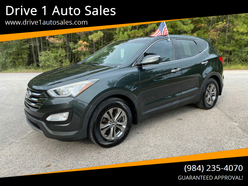 2013 Hyundai Santa Fe Sport for sale at Drive 1 Auto Sales in Wake Forest NC