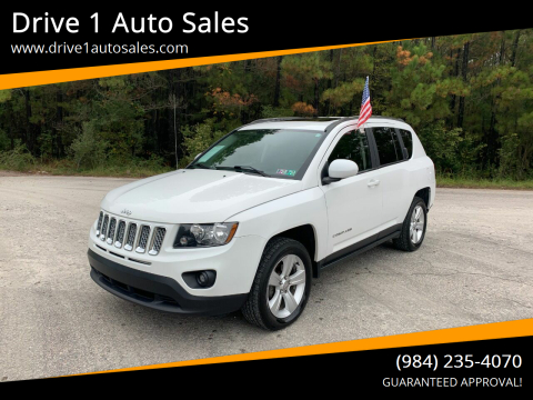 2014 Jeep Compass for sale at Drive 1 Auto Sales in Wake Forest NC
