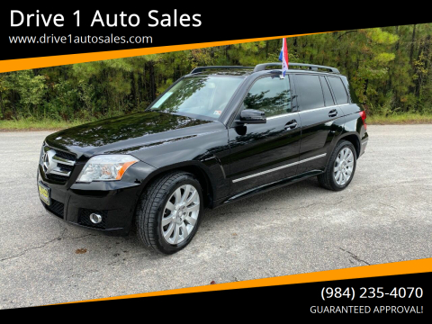 2012 Mercedes-Benz GLK for sale at Drive 1 Auto Sales in Wake Forest NC