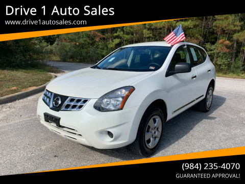 2014 Nissan Rogue Select for sale at Drive 1 Auto Sales in Wake Forest NC